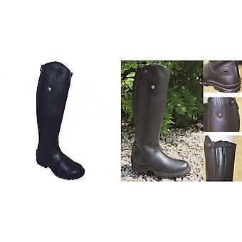 Mark Todd Adults Tall Fleece Lined Winter Boots