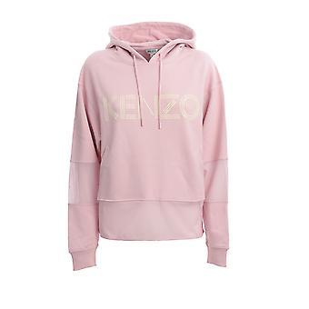 Kenzo Fa52sw86595234 Women's Pink Cotton Moletom