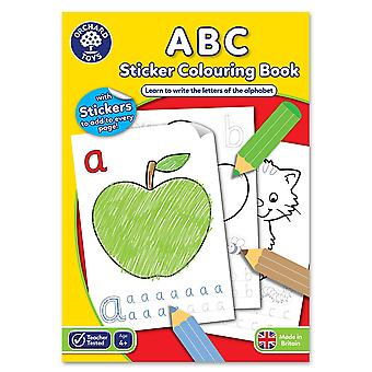 Orchard Toys ABC Sticker Colouring Book
