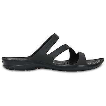 Crocs 203998 Swiftwater Sandal Ladies Mule Sandalen Zwart