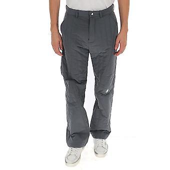 A Cold Wall Acwmf19tnb01grey Men's Grey Cotton Pants