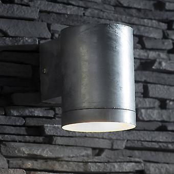 Garden Trading St Ives Large Galvanised Steel Down Light