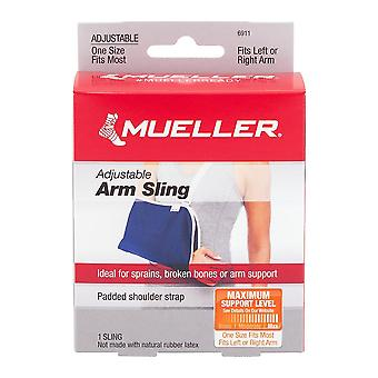 Mueller sport care adjustable arm sling, maximum support, 1 ea