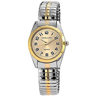 Excellanc 170014500018-armbandsur, olika material, färg: multi