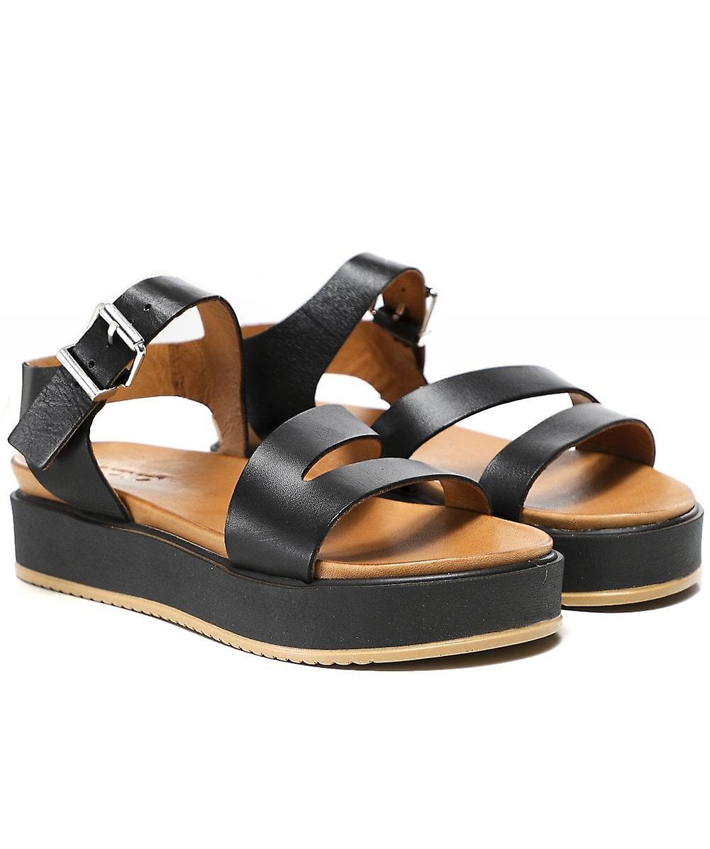 Inuovo Skórzane sandały flatform IP4sO