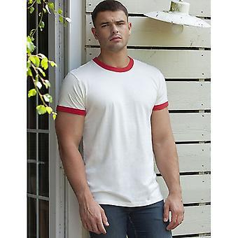 Superstar By Mantis Mens Ringer Short Sleeve T-Shirt
