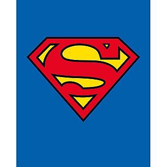 מיני פוסטר לוגו קלאסי של סופרמן