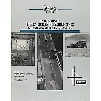 Valutazione dei sensori termocoax piezoelettrici con peso in movimento - 9780