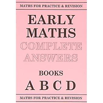 Maths for Practice and Revision: Early Maths Answers ABCD