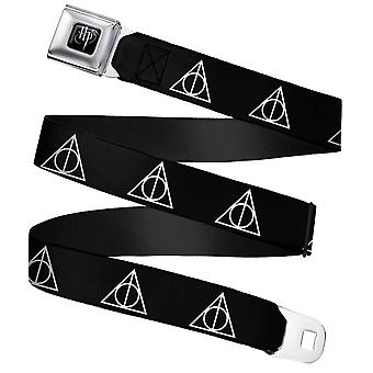 Harry Potter Deathly Hallows Symbool Webbing Gordel