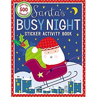 Sticker Activity Books Santa's Busy Night Bind Up by Make Believe Ide