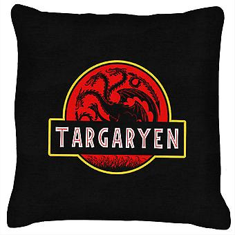 Targaryen Jurassic Park Game Of Thrones Cushion