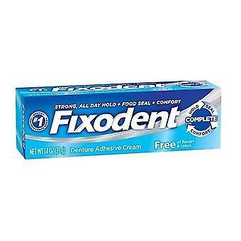 Fixodent free denture adhesive cream, 1.4 oz