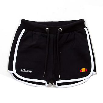 Ellesse Heritage Victena Junior Kids Girls Holiday Summer Short Black