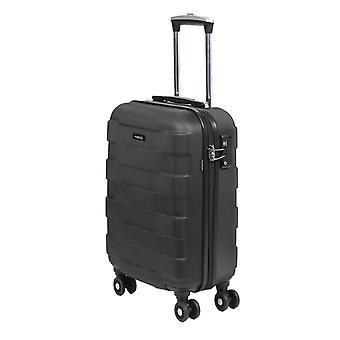 March15 Bumper Handbagage Trolley S, 4 Wielen, 55 cm, 34,5 L, Zwart