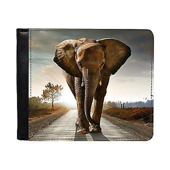 Elefant Plånbok Med Myntbörs