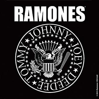 Ramones Coaster Presidential Seal band logo new Official 9.5cm x 9.5cm single