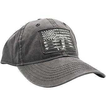 Grunt Style Ammo Flag Patch Hat - Black