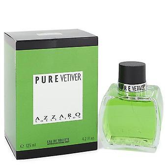 Azzaro Pure Vetiver Eau De Toilette Spray Par Azzaro 4.2 oz Eau De Toilette Spray