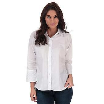 Women's Only Grace Cotton Shirt in White