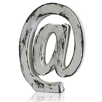 Shabby Chic Letter - At Sign