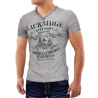 Hommes riches en Islande T-Shirt col v Stretch Polo Chemise Slim fit hood