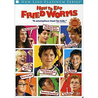 How to Eat Fried Worms [DVD] USA import
