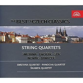 Best of Czech Classics-String Quartets - The Best of Czech Classics: String Quartets [CD] USA import
