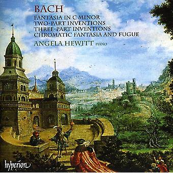 J.S. Bach - Bach: Fantasia in C Minor; Two-Part Inventions; Three-Part Inventions; Chromatic Fantasia & Fugue [CD] USA import