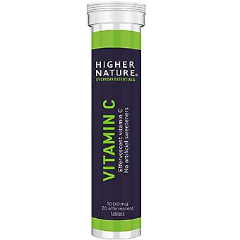Higher Nature Fizzy C Effervescent Tablets 20 (FIC020)