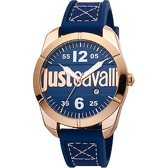 Just Cavalli Young Watch JC1G106P0015 - Silicon Gents Quartz Analogue