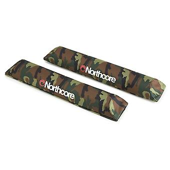 Northcore camo aero roof bar pads