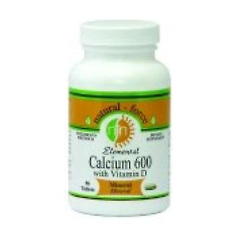 Calcium and Vitamin D 90 tablets of 600mg