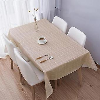 Waterproof Disposable Print Rectangle Table Cloth
