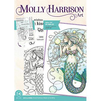 Crafter's Companion Molly Harrison Sea of Bubbles Clear Stamps