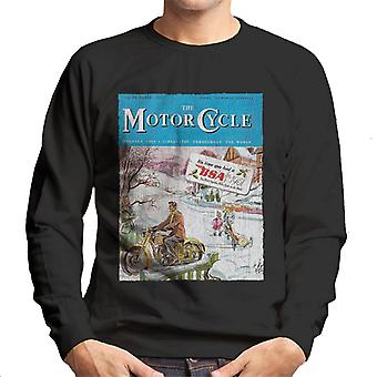 BSA The Motor Cycle Men's Sweatshirt