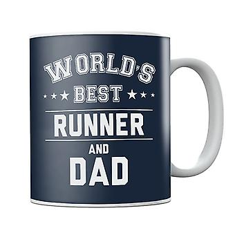 Worlds Best Runner And Dad Mug
