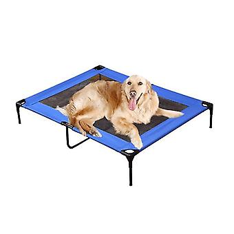 Pawz Heavy Duty Pet Bed Trampoline Dog Puppy Cat Hammock Mesh Canvas M