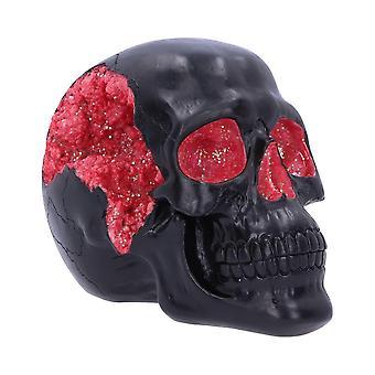 Nemesis Now Geode Skull Red 17cm