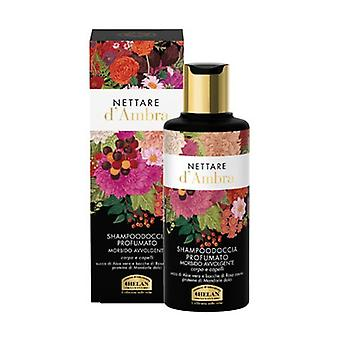 Nettare D'Ambra Shampoo and scented shower gel 200 ml of gel
