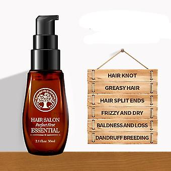 Hair Essential Oil Keratin Straightening - Curly Treatment Growth Mask For Damage Dry Split Ends Hair Repair