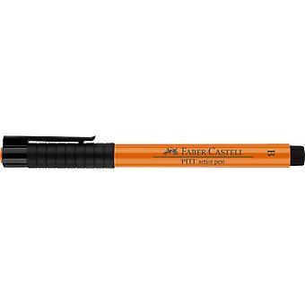 فابر كاستيل الحبر الهندي الفنان القلم فرشاة 113 الصقيل البرتقالي