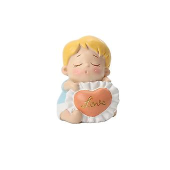 Resin Figurines Home Cartoon Ornament Sweet Boy