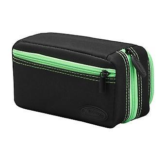 36-0702-10, Casemaster Plazma Pro Nero con green Trim Dart Case e Phone Pocket