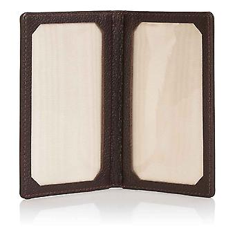 Espresso Malvern Leather Travel Card Holder