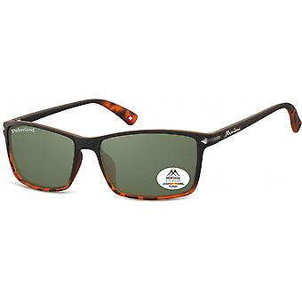 Sunglasses Unisex by SGB black/green (turtle) (MP51)