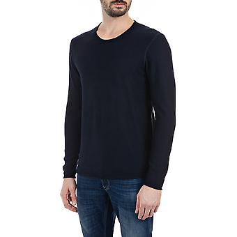 Replay Men's Solid-Coloured Crewneck Sweater Regular Fit