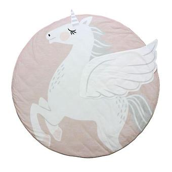 Tapis de forme d'animal de dessin animé pour ramper - accessoires de chambre d'enfants