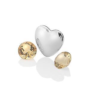 Anais hete diamanten Anais sterling zilver november charme AC031