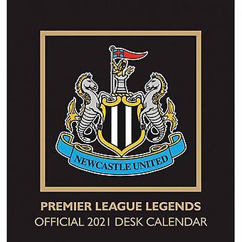 Newcastle United Desktop Calendar 2021